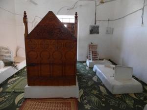 Inside Qubbah Al-Aydarus